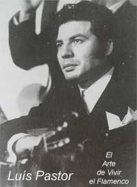 """Resultado de imagen de la guitarra flamenca luis pastor marín """"luís pastor"""""""