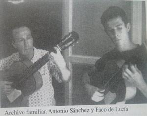 Antonio s nchez guitarristas el arte de vivir el flamenco for Paco familiar