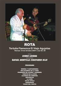 Curro lucena cantaores as el arte de vivir el flamenco - Lamparas lucena ...