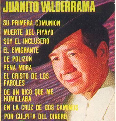 letra de cancion de juanito valderrama: